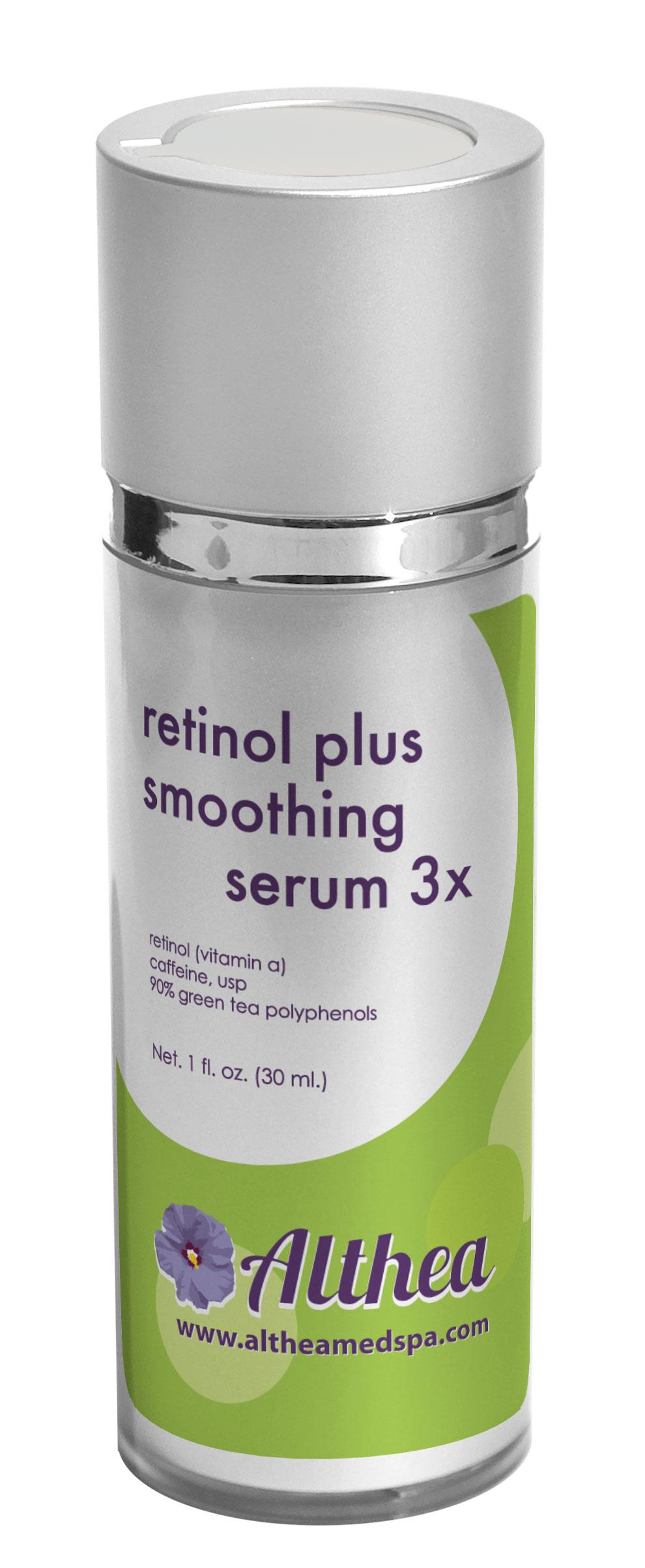 Retinol Plus Smoothing Serum 3x