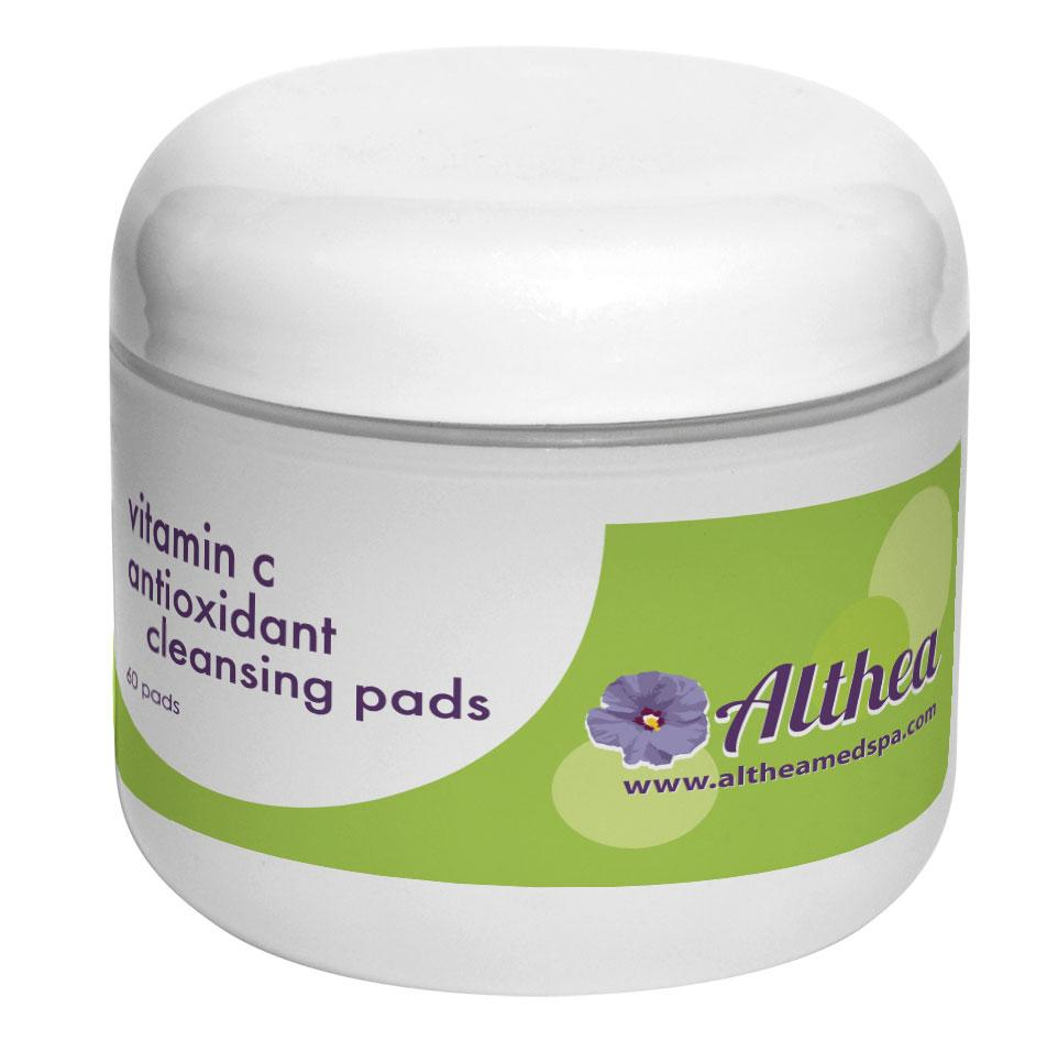 Vitamin C Antioxidant Cleansing Pads